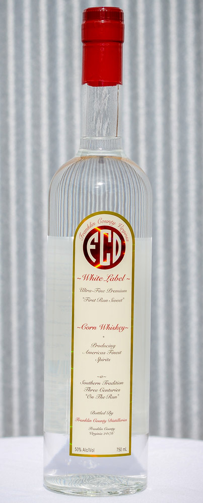 White Label Corn Whiskey