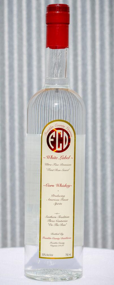 White Label Corn Whiskey